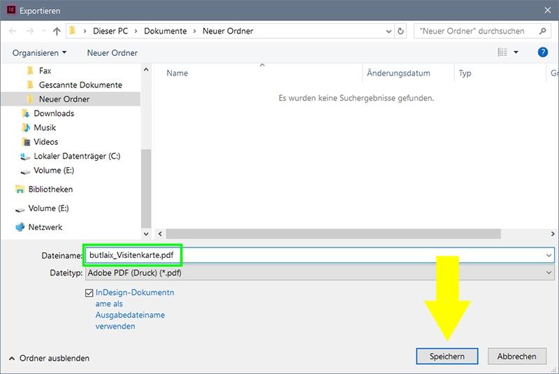 InDesign | Dokument nach PDF (Druck) exportieren - Bild 2