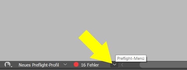 InDesign | Fehlerkorrektur 'BILDER und OBJEKTE' > 'Probleme beim Anschnitt/Zuschnitt' > 'Textrahmen' - Bild 2