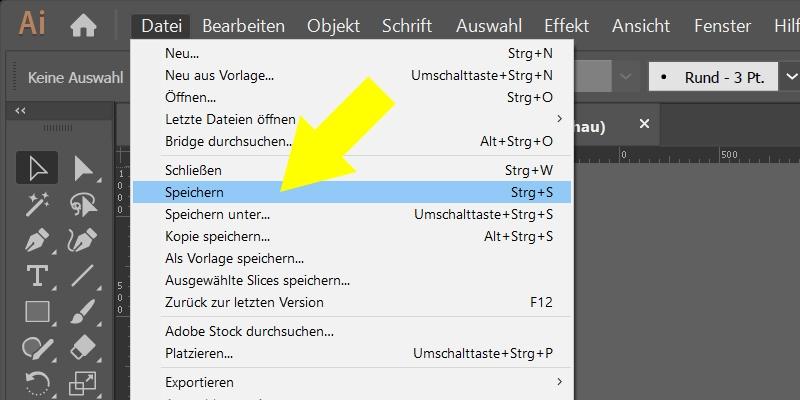 InDesign | Fehlerkorrektur 'FARBE' > 'Farbraum ist nicht zulässig' > verknüpfte Illustrator-Datei - Bild 13