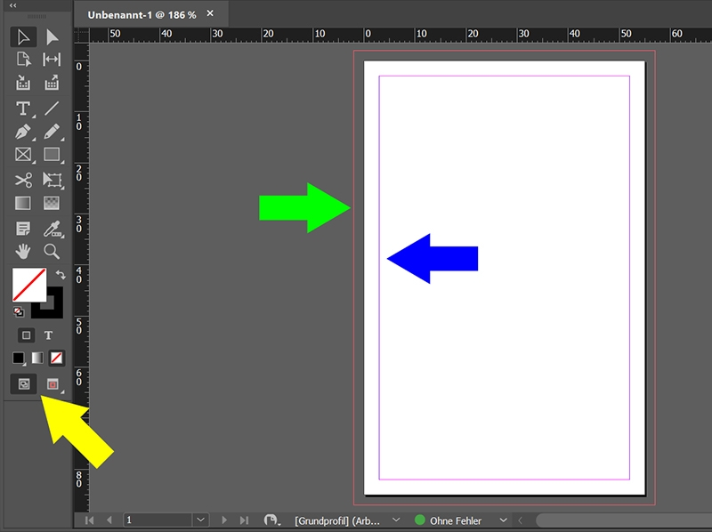 InDesign | Neues Dokument anlegen - Bild 6