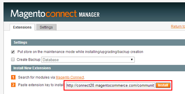 Magento - Install. Theme »Grayscale« (5)