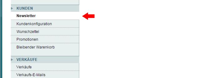 Magento - Systemkonfiguration: Kunden (1)