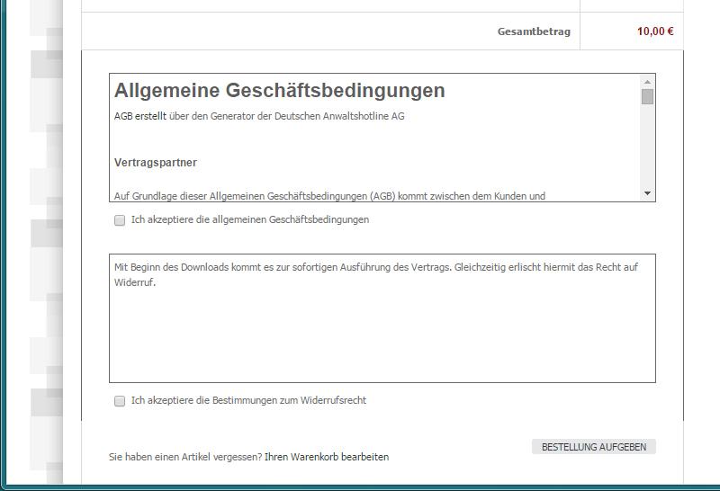 Magento - AGB & Widerruf (15)