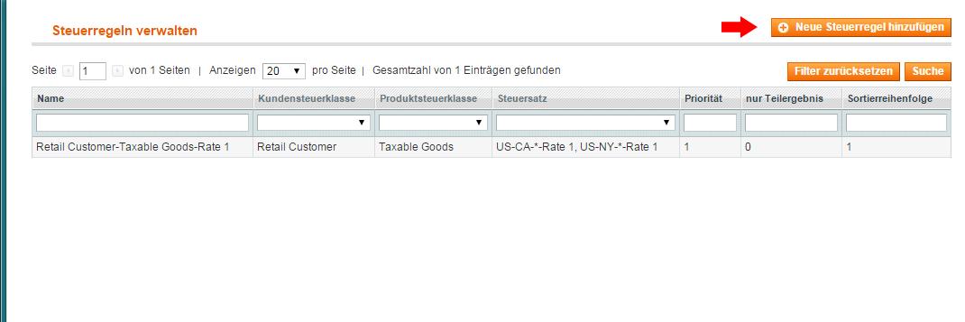 Magento - Steuerregeln (7)
