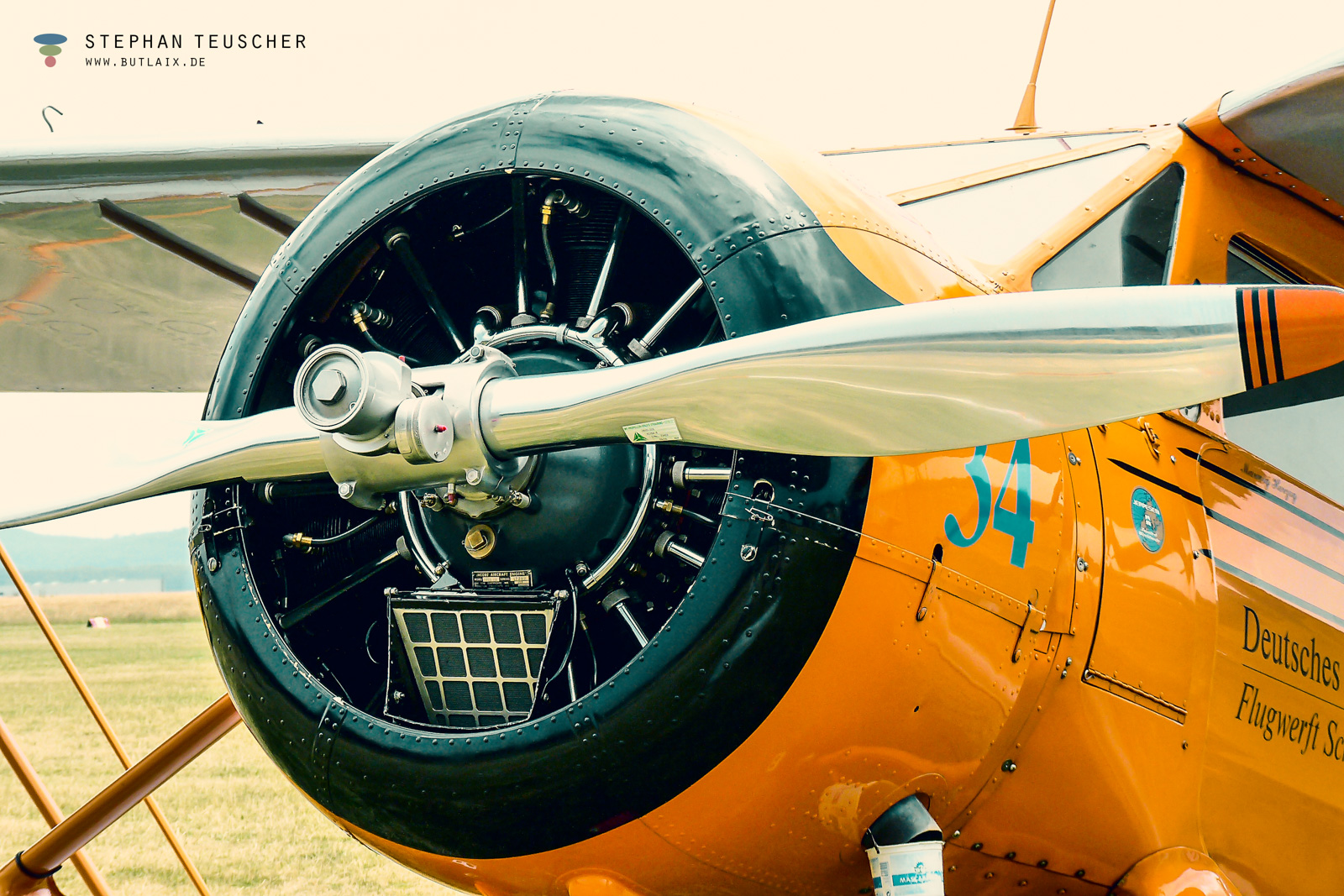 Foto: »Flugmotor [Aircraft engine] - No.2«
