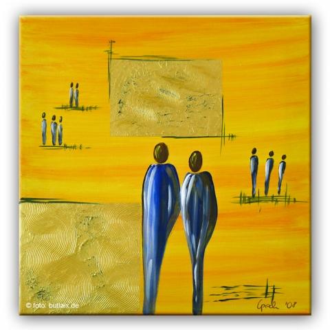 Fotografierte Kunst: »Afrikasonne« von Ursula Pech - up-kreativ-art.de