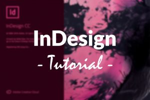 Beitragsbild - InDesign Tutorial
