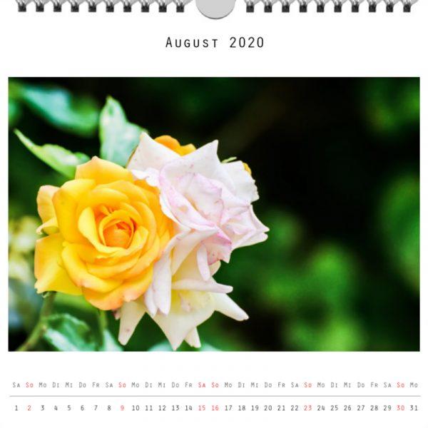 Foto: »Kalender 2020 - Monat August«