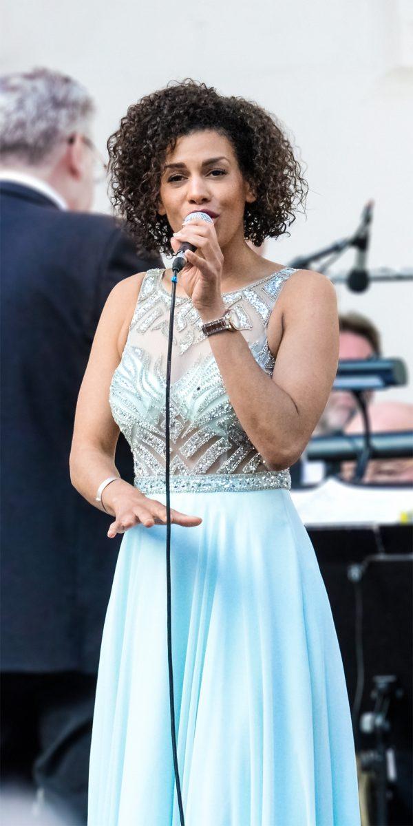 Foto: »Caroline Mhlanga in Concert - No.1«